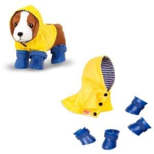 Our Generation tøj til hunden, regntøj