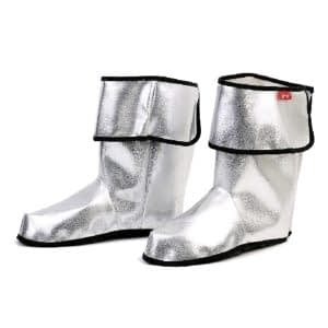 Sølv støvler (overtræk til sko)