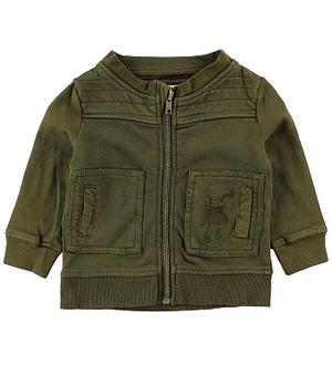 Small Rags Cardigan - Armygrøn