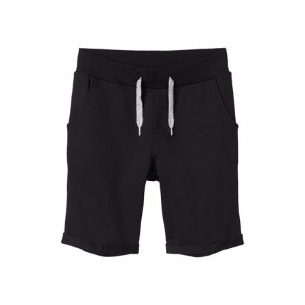 NAME IT Sweat Shorts Vermo Black - Tøjstørrelser: 104