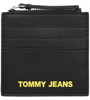 Tommy Hilfiger Kortholder - Sort m. Gul