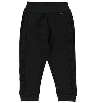 Molo Sweatpants - Aline - Sort m. Flæser