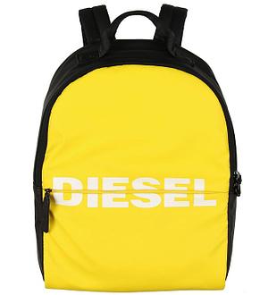 Diesel Rygsæk - Bold - Sort/Gul m. Logo