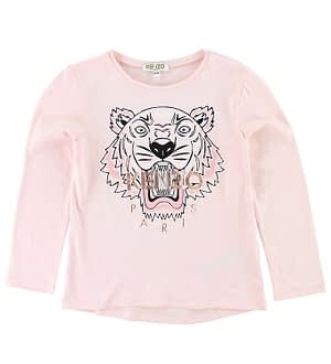 Kenzo Bluse - Pudder m. Tiger