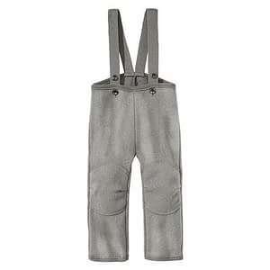 Disana overtræksbukser i kogt uld - Grey