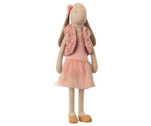 Str. 4 Bunny - Ballerina med Vest - Rosa (53 cm.)