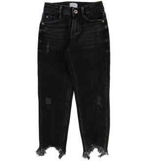 Grunt Jeans - Relaxed - Sort Denim