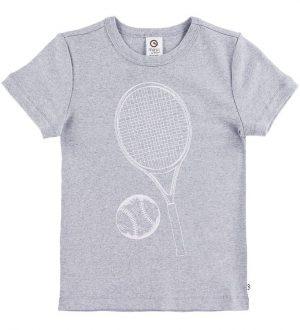 Müsli T-shirt - Cozy Tennis - Gråmeleret