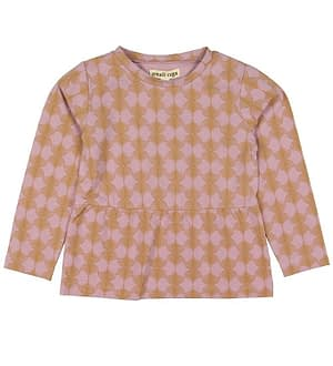 Small Rags Bluse - Rosa m. Mønster