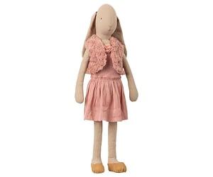 Str. 5 Bunny - Ballerina med Vest - Rosa (66 cm.)