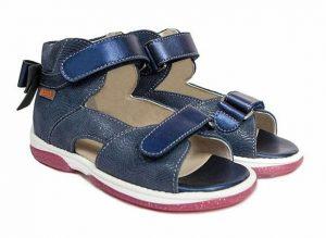 Memo Juliet sandal, navy - sandal med ekstra støtte