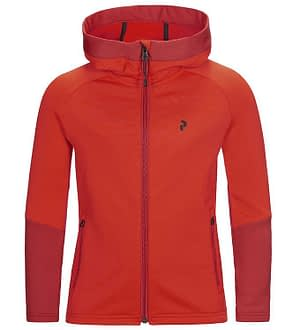 Peak Performance Cardigan m. Fleece - Ride - Dynarred