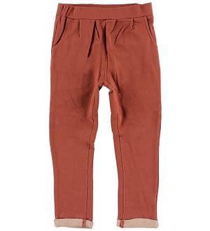 En Fant Sweatpants - Brændt Rød