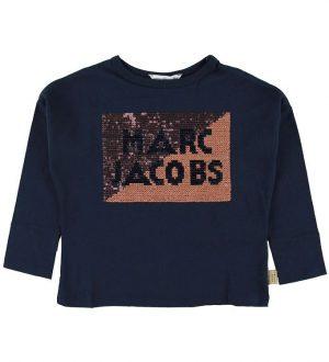 Little Marc Jacobs Bluse - Navy m. Palietter