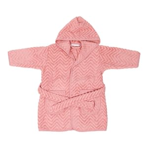Badekåbe - Zigzag Rose (1-2 år)