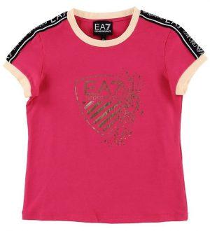 EA7 T-shirt - Pink m. Print/Logostribe