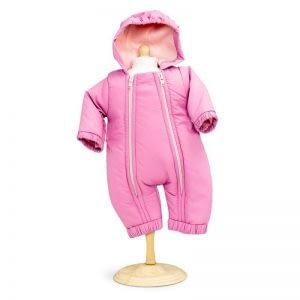 Mini Mommy Dukketøj flyverdragt i rosa (33-37 cm)