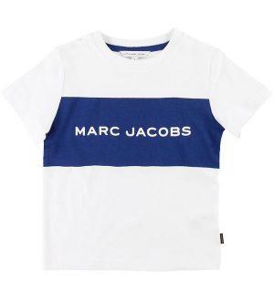 Little Marc Jacobs T-shirt - Hvid/Blå