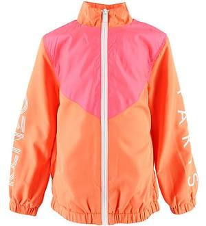 Kenzo Cardigan - Sport Line Logo - Orange