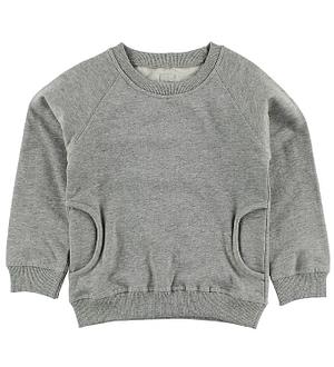 Minipop Sweatshirt - Gråmeleret
