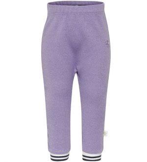Hummel Sweatpants - Ginger - Lavendel m. Glimmer