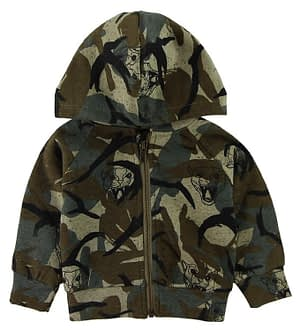 Soft Gallery Cardigan - Buster - Camouflage m. Tiger