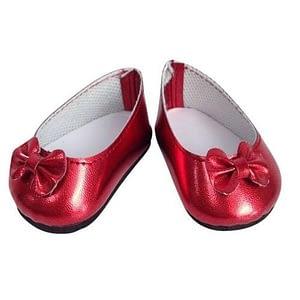 Mini Mommy Dukketøj ballerina sko - rød