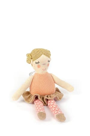 Smallstuff Aktivitets ballerina -peach /gold