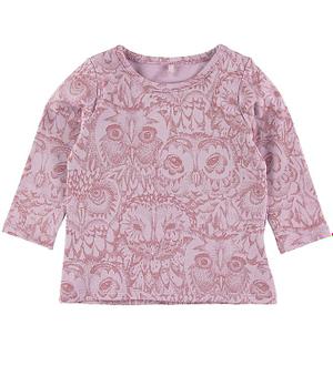Soft Gallery Bluse - Baby Bella - Lavendel m. Ugler