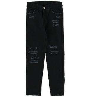 Levis Jeans - 710 Super Skinny - Sort Denim