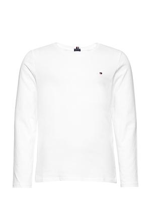 Tommy Hilfiger T-shirt L/S White Pige