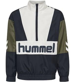 Hummel Teens Cardigan - HMLSnoop - Navy/Hvid m. Logo