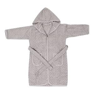Badekåbe - Zigzag Grey (5-6 år)
