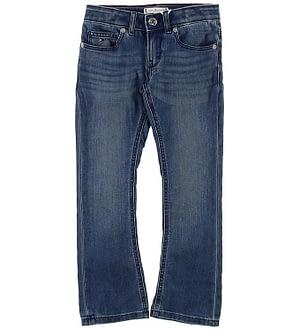 Tommy Hilfiger Jeans - Skinny Flare - Blå Denim