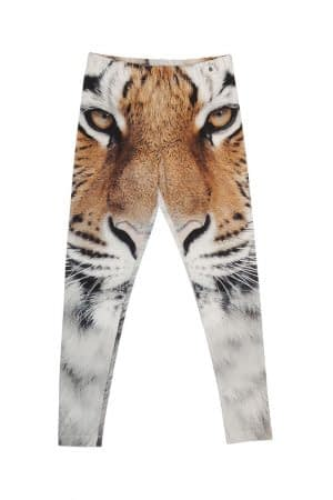 Popupshop Leggings - Tiger