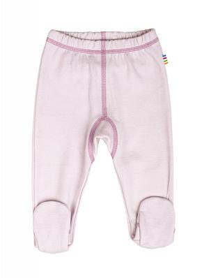 baby lyserød leggings med fod fra danske JOHA