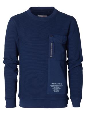 Petrol Sweatshirt L/S, Findes I Flere Farver