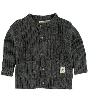 Small Rags Cardigan - Strik - Mørk Grå
