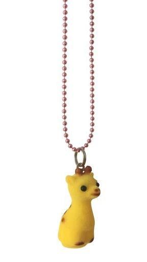 Pop Cutie soft jungle halskæde giraf