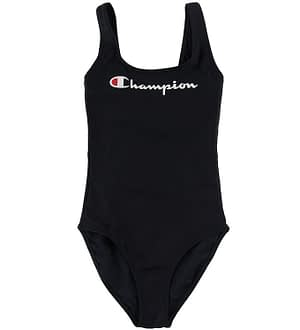 Champion Fashion Badedragt - Sort m. Logo