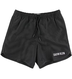Calvin Klein Badeshorts - Shortrunner - Sort