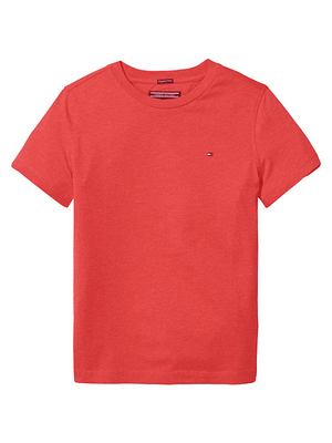 Tommy Hilfiger T-shirt S/S Red Dreng