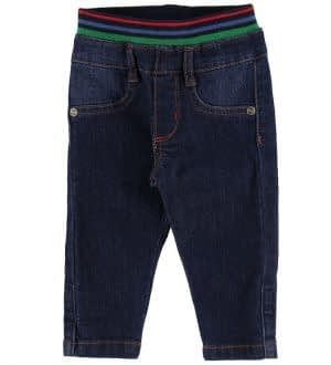 Paul Smith Baby Jeans - Vlas - Mørkeblå Denim
