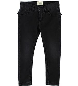 Fendi Kids Jeans - Sort m. Flæse