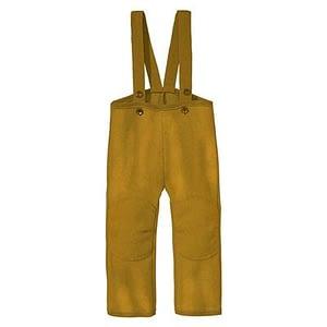 Disana overtræksbukser i kogt uld - Gold