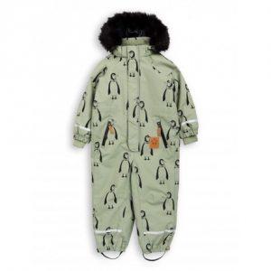 MINI RODINI Flyverdragt Med Pingviner - Tøjstørrelser: 104