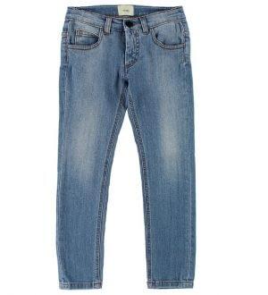 Fendi Kids Jeans - Blå m. Hjerter
