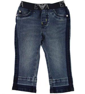 Emporio Armani Jeans - Blå m. Lime
