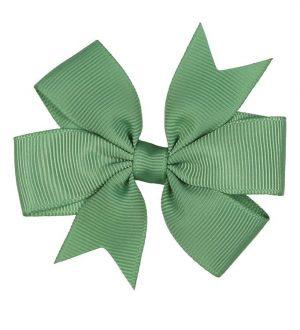 Minipop Hårsløjfe - 8 cm - Grøn