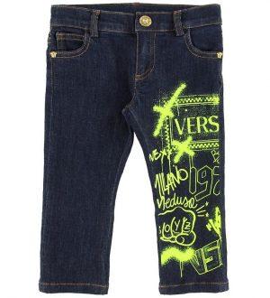 Versace Jeans - Navy m. Print/Neongul